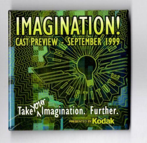 Disney Imagination Cast Preview September 1999 Button