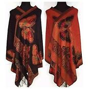 Chinese Silk Shawl Scarf