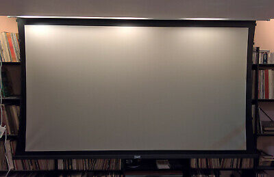 100 Da-lite 169 Motorized Projector Screen Tensioned Gain 1.3