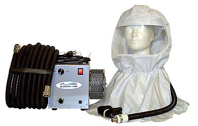 Supplied Fresh Air Respirator Breathing Vinyl Painters Hood System Sar