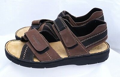 Used, Mens Rieker Sandals Antistress Brown Size 9 (42)  for sale  Rogers City