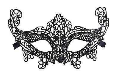 aske Maske Maskenball schwarz als Kostüm Verkleidung  (Venezianische Maskenball Kostüme)