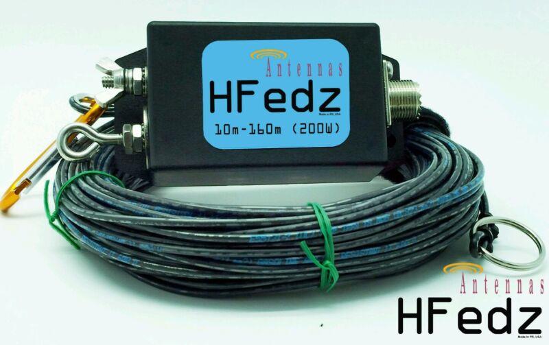 HFedz End Fed 10m-160m HF antenna (200W) Ham Radio Antenna