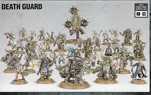 Warhammer 40K Dark Imperium Death Guard Army 31 models plague marines foetid