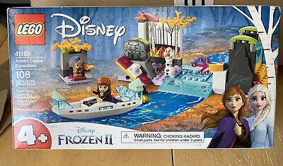 GENUINE LEGO Disney Frozen 2 Anna's Canoe Expedition Building Kit, 41165, NEW