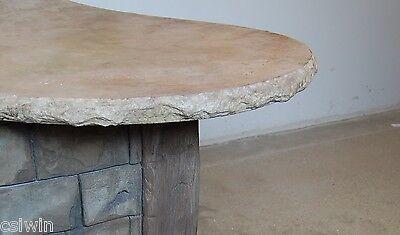Aggressive Stone - Split Face Concrete Countertop Edge - Stone Countertop Edges