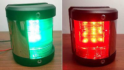 Port Navigation Light (PACTRADE MARINE BOAT GREEN STARBOARD AND RED PORT SIDE LED NAVIGATION)