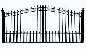 14-DRIVEWAY-GATES-IRON-GATES-STEEL-GATE-PRAGUE-NEW-STYLE