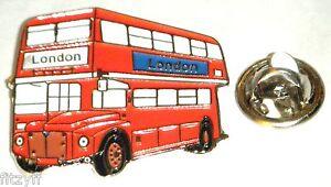LONDON-RED-BUS-LAPEL-HAT-CAP-TIE-PIN-BADGE-UK-ENGLAND-UNITED-KINGDOM-SOUVENIR