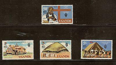 Uganda Scott 171 - 174 - Set Of 4. MNH. OG.        #02 UGANDA171s