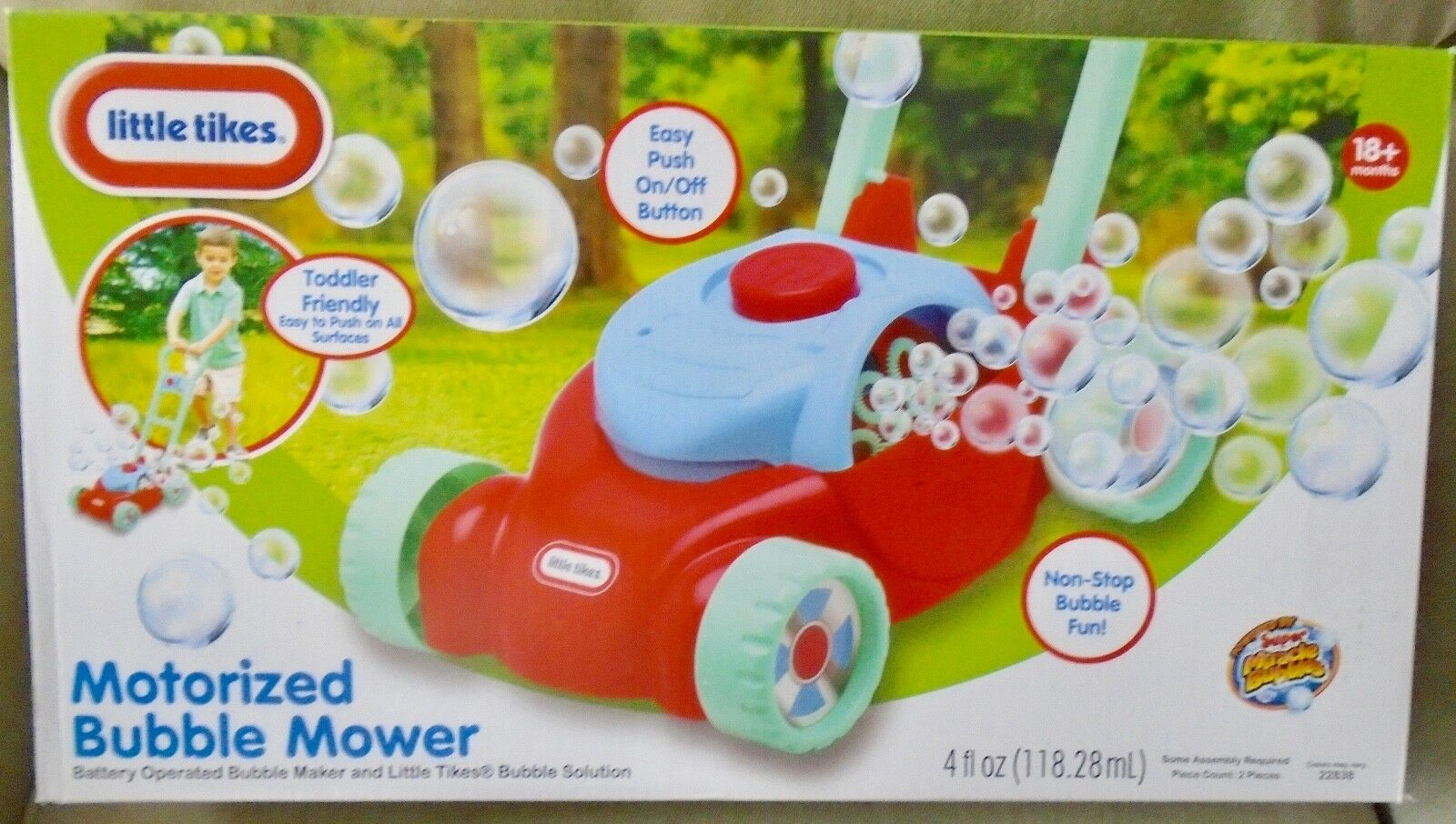 Gas N Go Lawn Mower Smart Toy Baby Toddler Outdoor Fun Kids