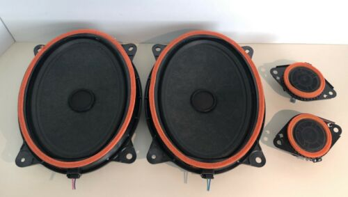 "Toyota OEM JBL Premium Sound (3"") 861600WU50 & (6x9"") 861600WU60 Speakers"