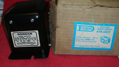 Oil Burner Ignition Transformer Dongan A 10sx27 10000 V 22 Ma Midpoint Ground