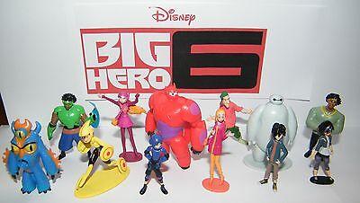 Disney Big Hero 6 Figure Set of 12 with Hiro, Baymax, Fred and Bonus ](Big Hero 6 Hiro)