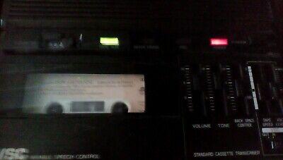 Panasonic Rr-850 Desktop Cassette Transcriber Pedal Rp 2692 Recorder