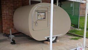 Teardrop camper trailer hot rod rat VW  KOMBI beetle swap tear drop Merewether Newcastle Area Preview