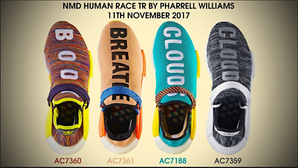 Cashing out/Buying Adidas Human Race Pharrell Williams NMD