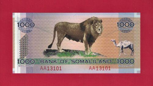 BEAUTIFUL 1,000 SHILLINGS 2006 - BANK OF SOMALILAND (P-CS1a) - COLLECTOR