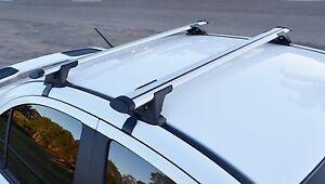 Toyota Hilux Double Cab 1997-05 Aero Slim Roof Rack Cross Bar 75kg 125cm Alloy