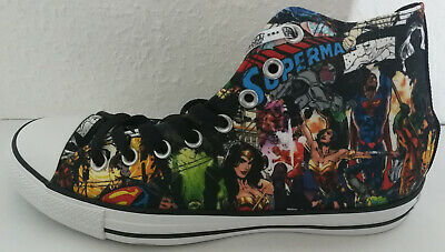 Converse Schuhe All Star Chucks DC Super Heroes Justice League 41,5 UK 8 NEU - Superhero Converse