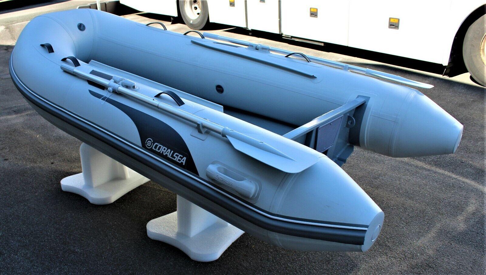 Grau Schlauchbootpersenning 330 cm