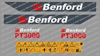 Benford Pt3000 Adesivi Decalcomanie Dumper -  - ebay.it