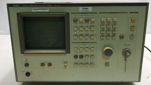 ANRITSU MS96A OPTICAL SPECTRUM ANALYZER 600-1600NM