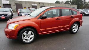 2007 Dodge Caliber SXT AUTOMATIC CRUISE ALLOYS AUX CERTIFIED 2YR