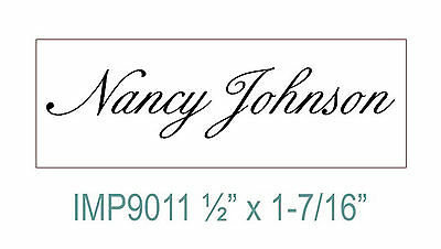 Custom Personalized 1 Line Designer Your Name Self Inking Rubber Stamp