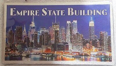 Empire State Building Souvenir Plaque (2-sided image)