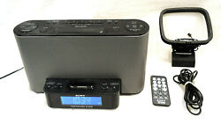 Sony Dream Machine Alarm Clock AM/FM Stereo Radio w/ iPod iPhone Dock ICF-CS10iP