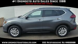 2018 Nissan Rogue SV WINTER TIRES,ALL WHEEL DRIVE,REMOTE STAR...