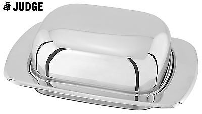 Judge Stainless Steel Domed Butter Dish TC156
