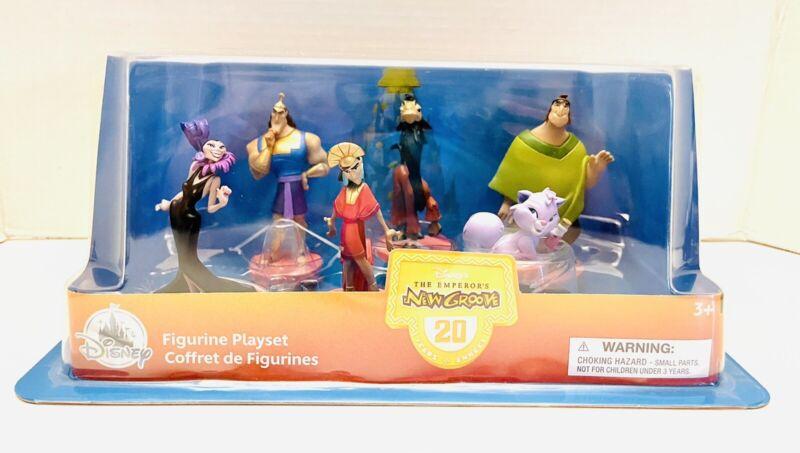Disney Store The Emperor's New Groove 20th Anniversary Figurine Playset NIB