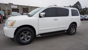 2005 Nissan Armada LE 4WD 7 PASSENGERS AUTO CERTIFIED 2YR WARRAN