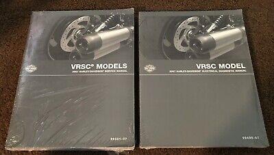 2007 Harley Davidson VRSC Repair Service Manual / Electrical Diagnosis