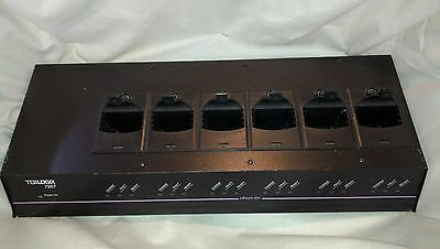 Psion Teklogix 7967 Six 6 Bay Slot 7035 Battery Charger Charging Station