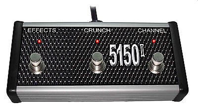 5150 Series - Switch Doctor - Custom 3 Button Footswitch for Peavey 5150 Series II Amplifiers