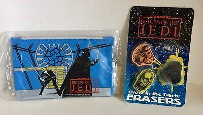 Star Wars Return Of The Jedi 1983 Vinyl Pencil Case & Glow in the Dark - Star Wars Pencil Case