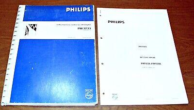Phillips 10 Mhz Dual Beam Oscilloscope Pm3233 Passive Probe Pm93369336l Manual