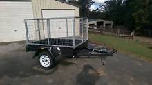6X4 BOX TRAILER -  with 900mm HIGH GALVANIZED CAGE Palmwoods Maroochydore Area Preview