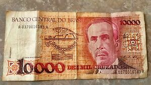 Attention Collectors!$10,000 Brazilian dollars for