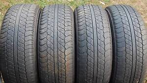 4X4 4WD (4) Dunlop AT20 265/65/17 Wheels only – Morayfield Morayfield Caboolture Area Preview
