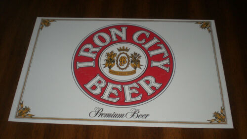 IRON CITY BEER 11x17 COLOR AD PRINT -  PITTSBURGH BREWING