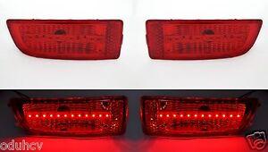 2-piezas-LED-ROJO-TRASERA-IZQUIERDO-Y-DERECHO-Luces-de-marcaje-para-VW-CRAFTER