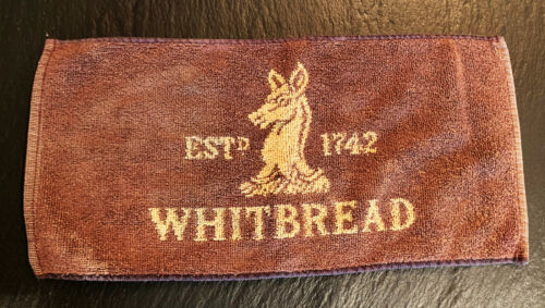 Vintage Pub Towel Beer Bar Accessory Man Cave Whitbread