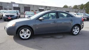 2008 Pontiac G6 2.4L Sedan *One Owner* Sunroof Certified 2Yr War