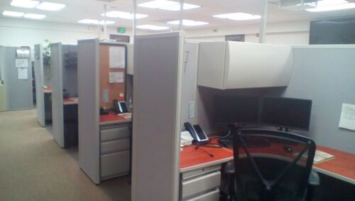 Used Office Cubicles, HON Initiate Cubicles 5x5