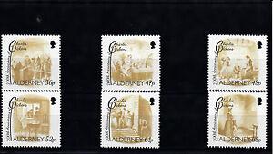 Alderney-2012-MNH-Charles-Dickens-200th-Anniv-Birth-6v-Set-Scenes-Oliver-Twist