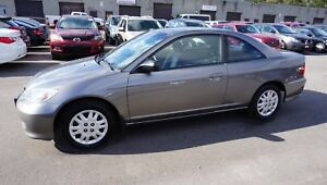 2005 Honda Civic Coupe LX coupe Automatic Cruise Certified 2Yr W